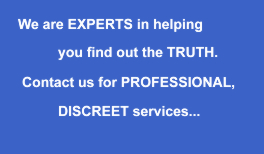 Professional and Discreet - Brighton private investigator